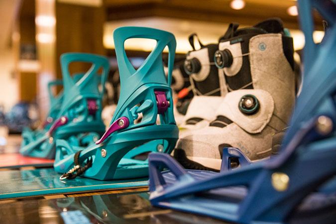 Vázání a boty pro Step On v plné kráse